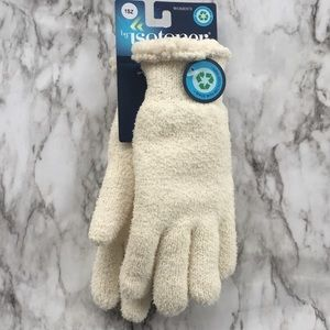 Isotoner Womens Cream Ivory Gloves NWT
